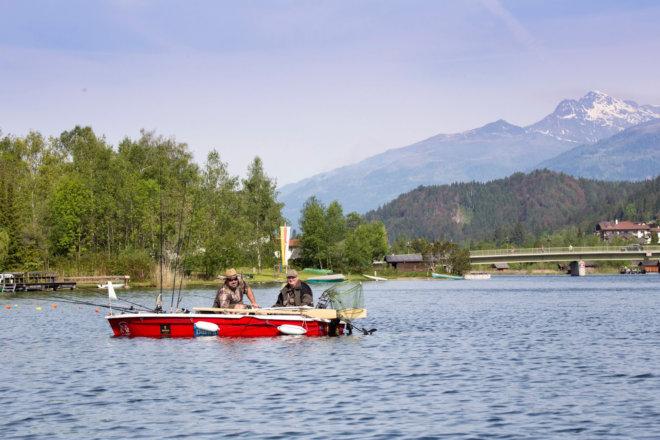 Weissensee Bootfahren